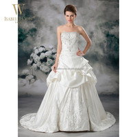 Fantastic bride dress ball gown real photo wedding dress