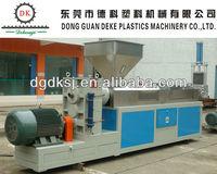 PP,PC,PE,ABS Plastic granules making machine DKSJ-160/140A