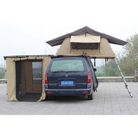 Unique Design pole material Pop up tent fiberglass car roof top tent With Mosquito Room