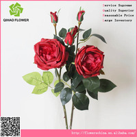 Factory directly Cheap giant artificial red rose flowers