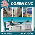 china fácil operación baratos de madera de la máquina del torno de madera sillas de escalera de madera de diseño pilar