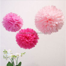 Colorful Tissue Paper Pom Poms Flower Balls Wedding Birthday Party