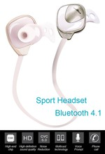 Wholesale mini lightweight wireless stereo sport bluetooth headset with CVC6.0 noise cancellation