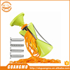2015 New Version Spiralizer: GD 4-Blade Vegetable Spiral Slicer with One Cleaning Brush