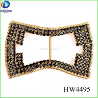 HW4495 new accessory jewelry shoe buckle with rhinestone