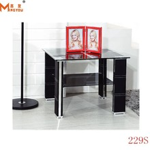 2015 glass table modern side tale for living glass table