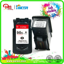 ink visible remanufactured inkjet cartridge for Canon 545XL 546XL
