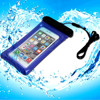 Hot Sale waterproof plastic bag for iphone 6 plus with neck strap