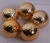 Factory 2 -piece wholesale gold golf balls for gift