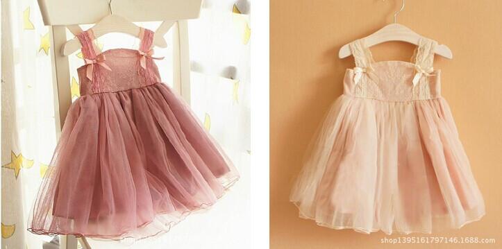 Детское платье Qimu high/end bowknot Q0176Q