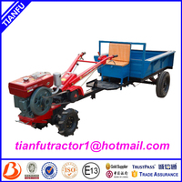 Discount!!!Hot selling 6-20hp hand held walking tractor