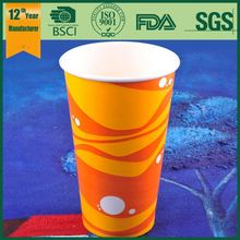 16oz cups / pe paper for cup / wholesale cold paper cup