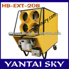 High utilization used oil heater HB-EXT-20B with strong hot air blowing