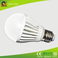 B22 E27 7W SMD5730 Plastic high power led bulb light wholesale