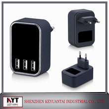 4800mA 4 Ports USB Charger Adapter UK/EU/US/AU/KC Travel Adapter Wall Charger for Smartphones,Tablets