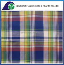 original design cotton polyester fabric with yarn dyed and cheap price