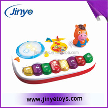 Battery operated education toy with light and music