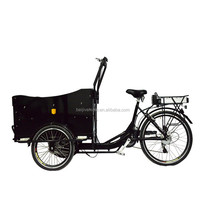"""26"""" Front loading big heavy three wheel vending tricycle"""