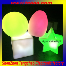 Magic mood light with different shaped