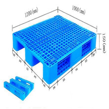 Gridding Single Face Plastic Pallet with Steel supplier