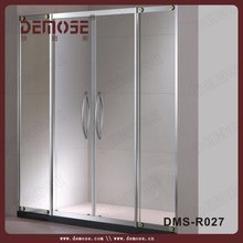 luxury partition wall sliding doors/decorative glass partitions