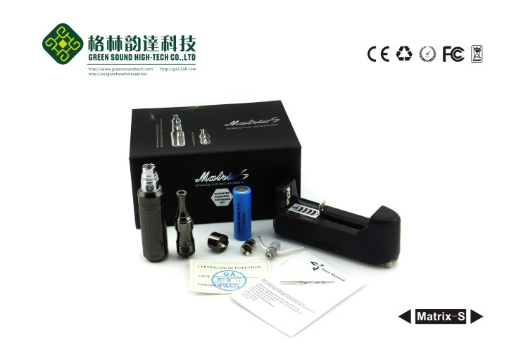 2014 Matrix-S variable voltage e vape mod kits original factory