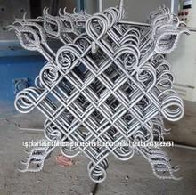 Valla de hierro forjado panel/flor decorativa panel de diseño