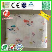 Popular newest muslin swaddle blanket wholesale