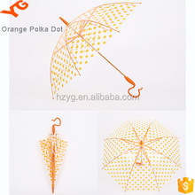 Newest women's transparent/women umbrella pvc