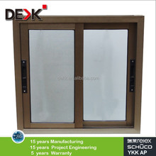 Non thermal break Aluminium profile sliding window with competitive price,