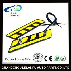 New Design Super Bright Daytime Running Light Car Light Waterproof Cob Car Accessory LED DRL