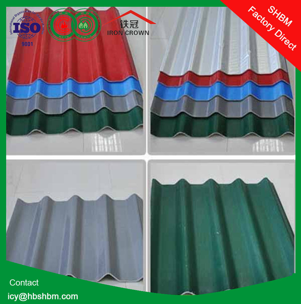 High strength mgo types of roof covering sheets fireproof for Types of roof covering materials