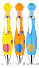 Cheap wholesale mini fat bowling shaped colorful stick ballpoint & advertising pen CH-6192