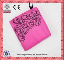2016 Promotion Custom Pink Polyester reusable Foldable shopping bag,folding bag,fodable bag