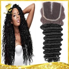 3.5X4 Royally Hair Direct Hair Factory Closure in Stock Lace Closure Brazilian Deep Wave