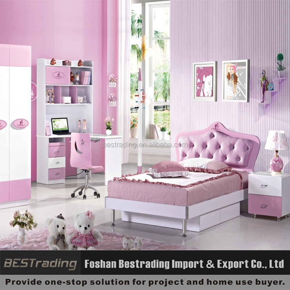 Wholesale price cheap good quality princess double bed for Cheap quality bedroom furniture