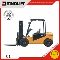 Sinolift New CPD-J Series 4-5T AC Electric Four Wheel Drive Forklifts with CE Certificate
