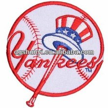 MLB BASEBALL NEW YORK YANKEES Embroidered Easy Iron On Patch