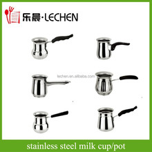 New Design Stainless Steel Milk Cup Mug Milk Pot Tea Pot With Handle Factory Price
