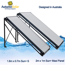 Australia designed swimming pool solar water heater flat panel