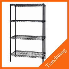 adjustable metal floating shelf with wheels for cheap sale