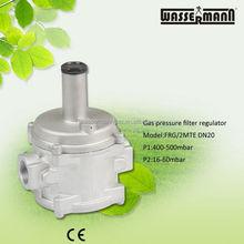 Dn20,0.5 bar, com filtro, gpl/natural gás regulador de pressão