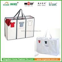 Best Selling Canvas Fabric Laundry Hamper Folding Laundry Bag without handle Wholesale