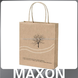 China manufacturer new style bbq charcoal paper bag for gift