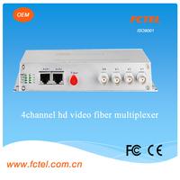 fiber optic communication equipment desktop,4channel hd video to ip/vga converter