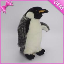 High quality CE testing walking and talking stuffed penguin plush toy, pingu soft toy