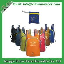 Promotional Ripstop Nylon Foldable Soft Backpack Lightweight Folding Backpack
