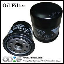 Oil Filter Factory wholesale Auto Oil Filter, Genuine Toyota Oil Filter 90915-YZZE1, 90915-YZZD4, 90915-YZZC5