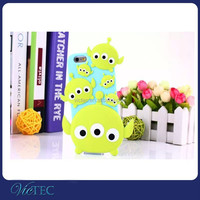 Fashion lovely rubber silicone mobile phone cover for iPhone 6