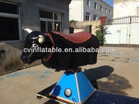 black inflatable mechanical bull for sale